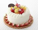 4号・12cm フルーツ飾りショートケーキ