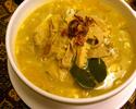 【テイクアウト】ソトババット(牛モツ煮スープ)