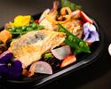 【TAKE OUT】 フランス産ひな鳥のローストチキンとパワーサラダ 5種柑橘ドレッシング
