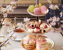 """【期間限定】Afternoon Tea """"SAKURA  桜""""+シャンパンor桜ラテ+ミニパルフェ"""