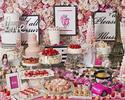 『3月ストロベリーホリック~Barbie in Paris~ 』いちご飴、桜ムース、桜タルトが新登場!(平日/大人)