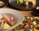 【Menu Armorica】リゾット、選べるメイン(鮮魚or肉)、デザートなど全5品