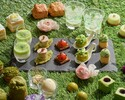 Weekday Spring Green Afternoon Tea