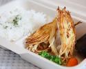 【カフェレストラン オアシス】 カリカリポテトをまとった若鶏のソテー弁当