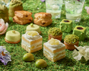 【Weekend:Semi Private Room B 】Spring Green Afternoon Tea