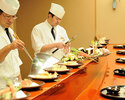 天婦羅委託課程[僅在星期六和星期日的午餐時間] *在天婦羅櫃檯用餐