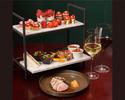 【苺のイブニングハイティー】オードブル、メイン料理、苺のガトー&紅茶飲み放題+1ドリンク