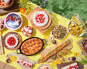 [Advance payment dessert buffet] Holiday Adult Girl's Sweets Camping