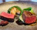 (ディナーA)千葉県産かずさ和牛フィレ肉のロースト