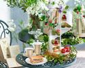 "【WEB14%OFF/Weekdays】Matcha&Strawberry ""Le Jardin Secret"" Afternoon Tea"