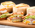 【定番人気】3種の選べるサンドウィッチ