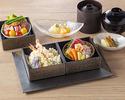 4/1-天ぷら、ローストビーフの2種から選べる「十二颯小箱」