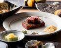4/1-鉄板焼ディナー「結」前菜とフォアグラ、車海老又はホタテが選べる メインは特選黒毛和牛!