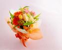 【オプション】 季節の花束¥3,300(税込)