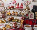 """【Sat, Sun & Holiday / Counter seats】 """"Alice's bread Eat me"""" Afternoon tea with strawberry sweets, authentic scones, and bread"""