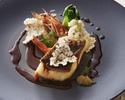 奈良ジャーニー(3コース) (前菜もしくはスープ、魚介料理もしくは肉料理、デザート)