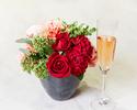 ◆大人/土日祝【5月末まで★母の日×豪華お花のプレゼント】乾杯酒&感謝を伝えるメッセージ付きディナーブッフェ