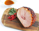 HONEY AND MUSTARD GLAZED HAM (1.5KG, SERVES 4-6)