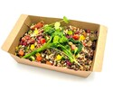 【New York Grill】 Quinoa salad, red alfalfa, cucumber, pumpkin seeds, Avocado oil dressing