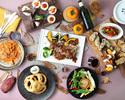 いつものデートやちょっとしたお祝いに!窓際確約GMCコース!お料理全8品!前菜〜PASTA 〜メインの牛ステーキにデザートまで!