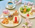 【平日カフェタイム限定】木田工房のパティシエが作る苺×桜のアフタヌーンティー♪2時間コーヒー紅茶飲みかえOK!