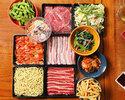 【事前決済】 【90分】《食べ放題&飲み放題》 BBQコース(飲み放題付)