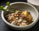Grilled Cajun Marinated Chicken Thigh - Pumpkin Gnocchi - Preserved Lemon Sauce