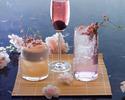 Sakura Blossom beverages at Up & Above Bar