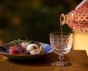 Kaiseki course with Sake pairing (3 glasses) 19,800JPY(税込)
