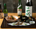 [Lunch only] Kaiseki course with Sake pairing (5 glasses) 16,500JPY(税込)