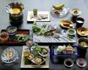 川床懐石料理 18,900円