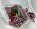 【4/29~5/9限定】母の日のお祝いに 赤・ピンク系のお花束