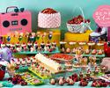 5/6【Adult】Dessert Buffet - '80s Retro Strawberry