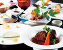 有機野菜と牛ほほ肉の神戸ワイン煮込みのコース