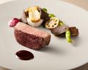 (ディナー)函館和牛のステーキとハッセルバックポテト