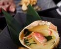 5月【手稲】Lunch&Dinner 道産ズワイ蟹のフランと本日の魚介・知床牛コース