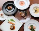 【ディナー】7600円 生産者応援!特別ディナーコース「メイン料理が選べる季節のディナーコース全6品」~フリードリンク付~