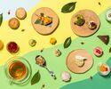 【事前予約限定】Fresh Green Afternoon Tea(フレッシュグリーンアフタヌーンティー)