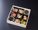 【2名様分】ガストロノミー グルメボックス 1段(前菜盛り合わせ)《期間限定 特別販売》