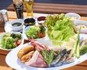 【キャプテンズ BBQ テラス席限定 】ランチタイム バーベキューのご予約( 11:30~14:00)