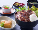 [Lunch] Grilled domestic beef bowl set meal