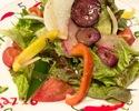 テイクアウト「契約農家の新鮮野菜サラダ」