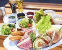 【キャプテンズ BBQ  テラス席限定】ランチタイム バーベキューのご予約( 11:30~14:00)