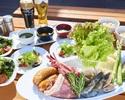 【キャプテンズ BBQ  テラス席限定】ディナータイム バーベキューのご予約( 17:30~21:00)