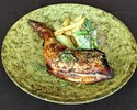 【Limited Weekday Lunch】Today's style of Grilled Fuji Plateau chicken with Semi order buffet