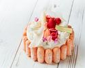 桃のショートケーキ(ホールケーキ)