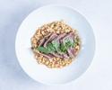 【TakeOut】Grilled Tuna,Almond & Caper,Tomato,Fregora,Cilantro,Jalapeno