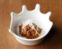 中屋醸造所さんの味噌とオリーブ牛を じっくり煮込んだ肉味噌