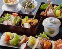 【人気No.1】彩りロール寿司8貫と季節を味わうSHARI御膳