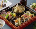 季節の天麩羅付き 贅沢な季節の松花堂SHARI御膳